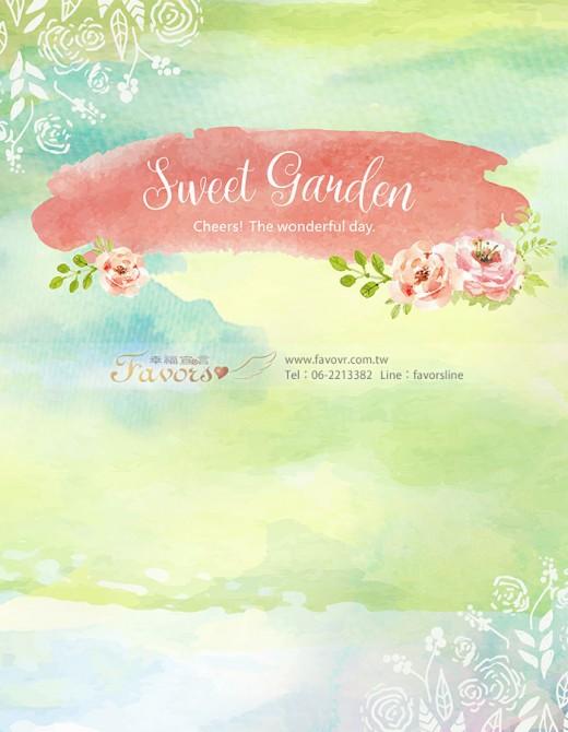 拉網架230x300-左右包边-sweet garden