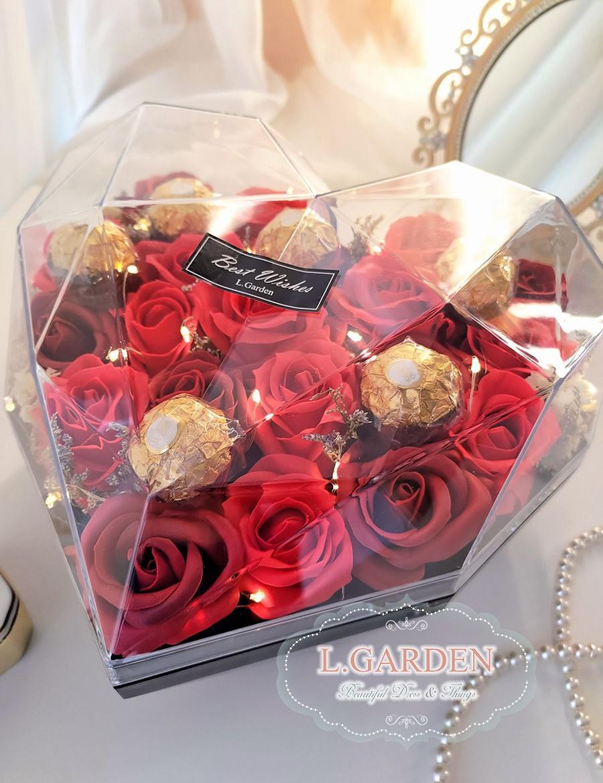 鑽石心花盒-R1