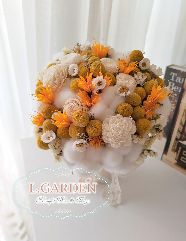 bridal-bouquet-yellow-1